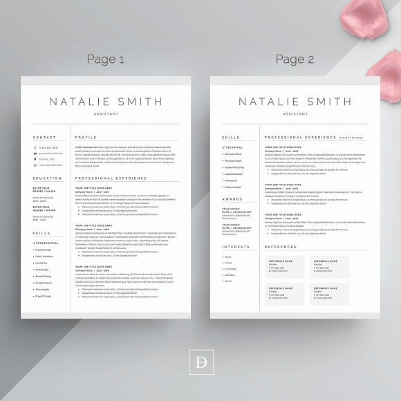 20 word resume cover letter template