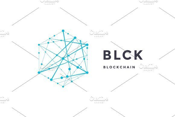 24 template label for blockchain technology