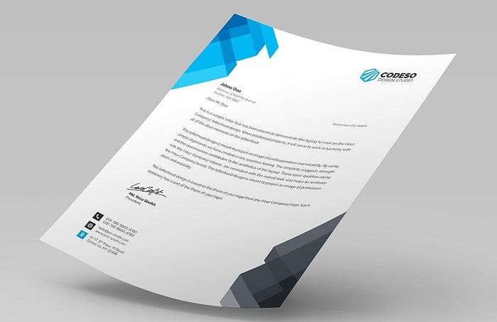 Stunning personal letterhead examples and when to use them tech 2 business letterhead spiritdancerdesigns Gallery