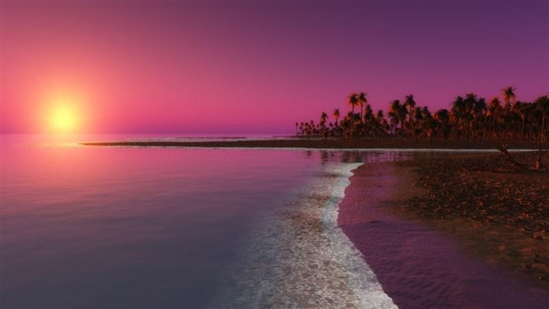 Twilight Sunset Wallpaper