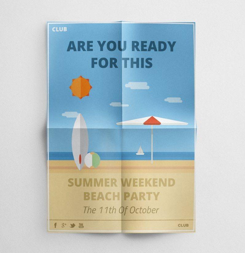25 summer party flyer templates psd ai tech buzz online