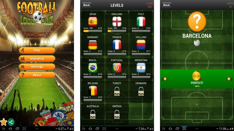 Football Logo Quiz Android Game