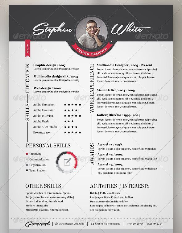 Resume Reference Sheet and Cover Letter Template