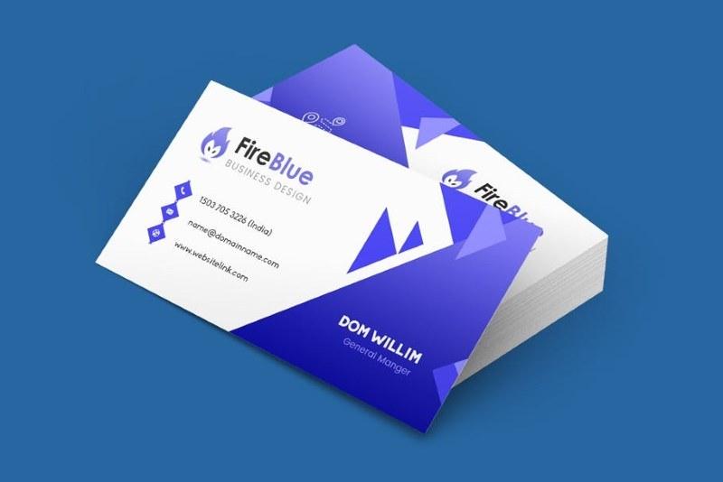 Business Card Template High Resolution