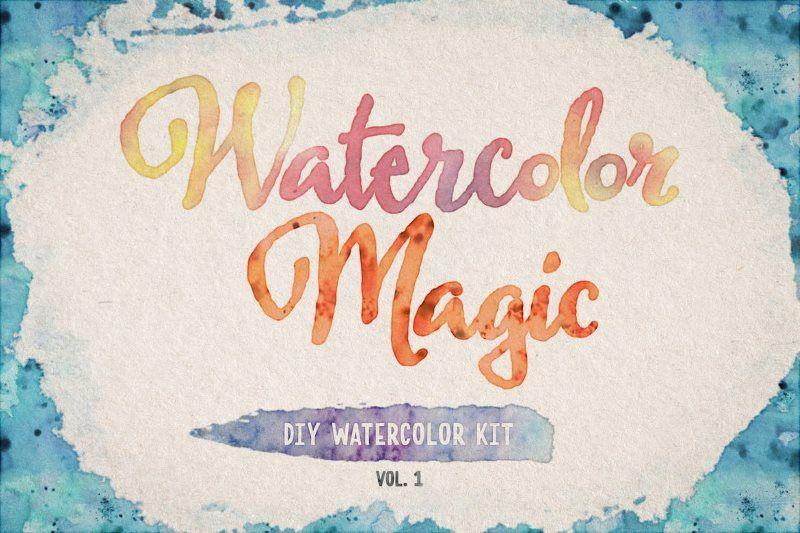 watercolor magic volume