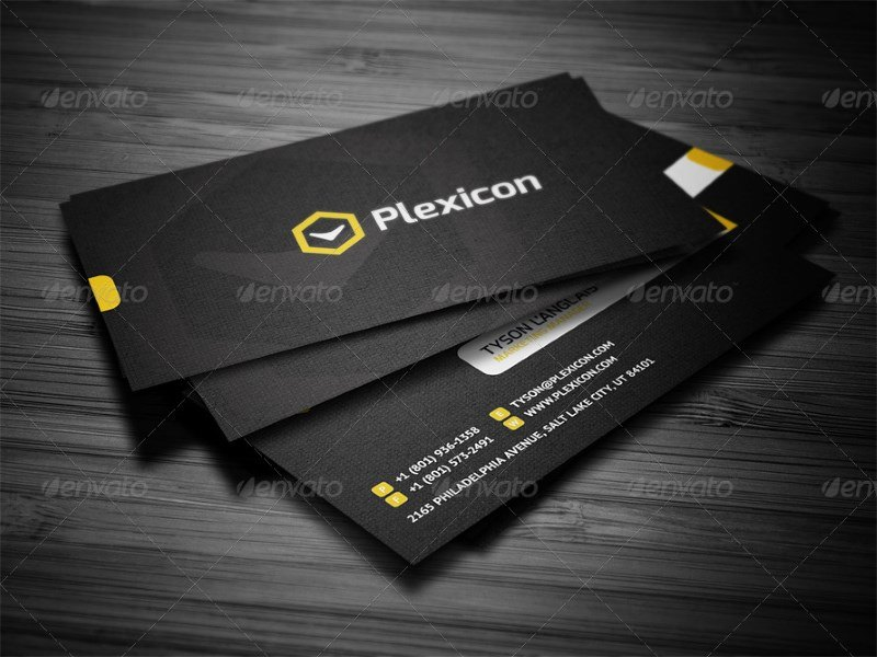 Stylish Corporate Business Card Template
