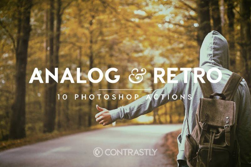Analog and Retro Photoshop Actions
