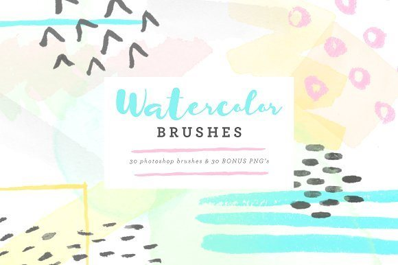 watercolor brushes