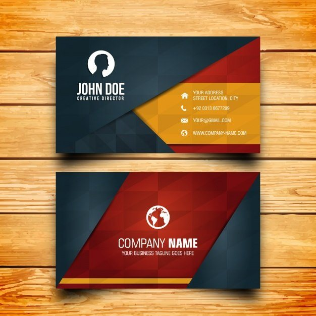 25 modern business card templates psd ai eps download tech business card design template friedricerecipe Gallery