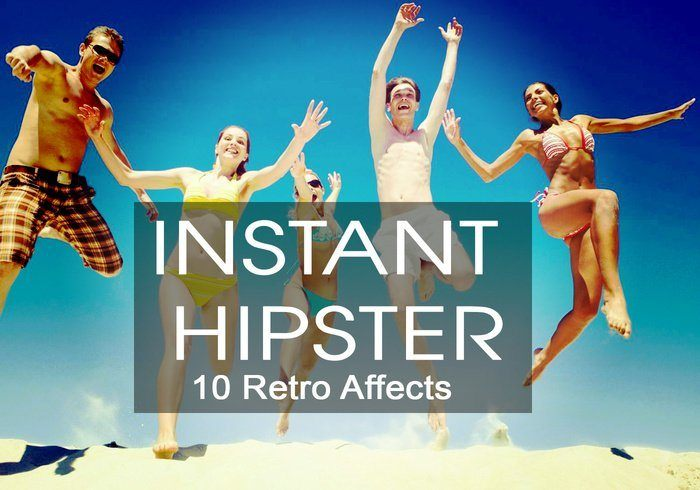 Instant Hipster 10 Retro Actions