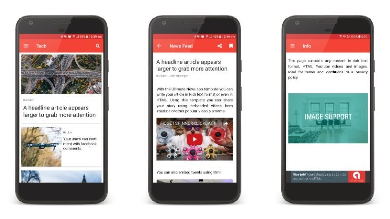 The Ultimate News App Template