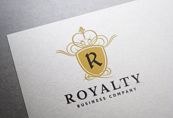 Royalty Crest Logo Mocca Design