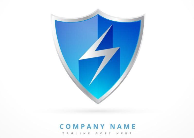 Security Shield Logo Template
