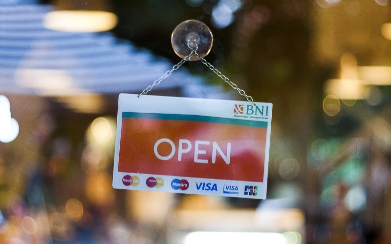 open retail business