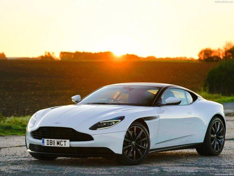 Aston Martin Car Sunset View