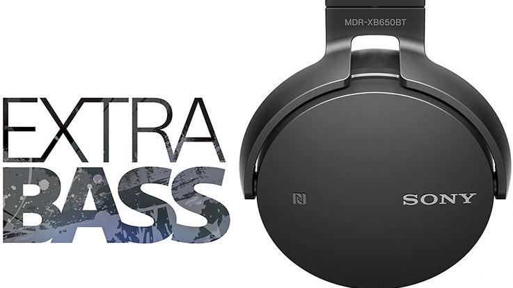 Sony MDR-XB650BT: pubblicità