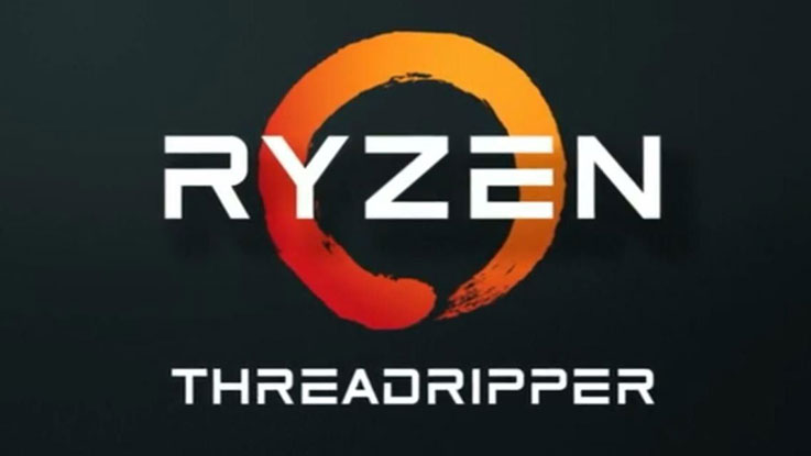 Logo di AMD Ryzen Threadripper
