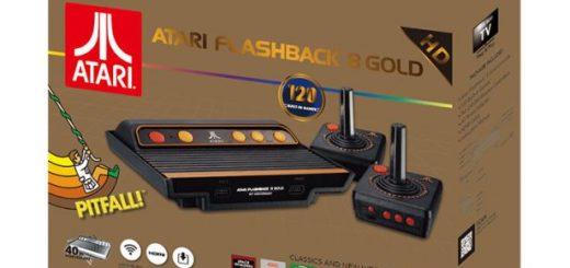 Confezione Atari Flashback 8 Gold HD