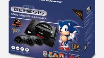 Confezione Sega Megadrive Mini