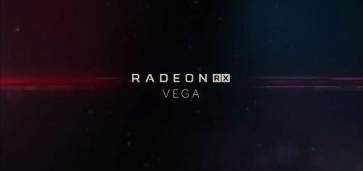 Logo della scheda video Radeon RX Vega