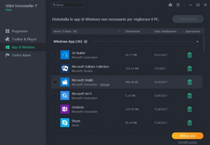IObit Uninstaller Pro 7: la suite per la rimozione dei programmi 3