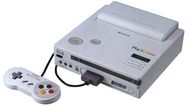 Console Sony: prototipo del SNES Playstation