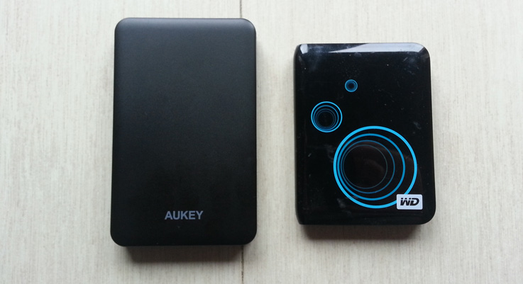 Aukey BS-D4: confronto con WD Elements