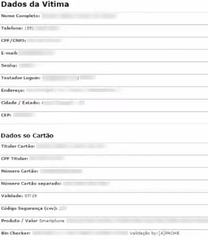 Phishing dei dati