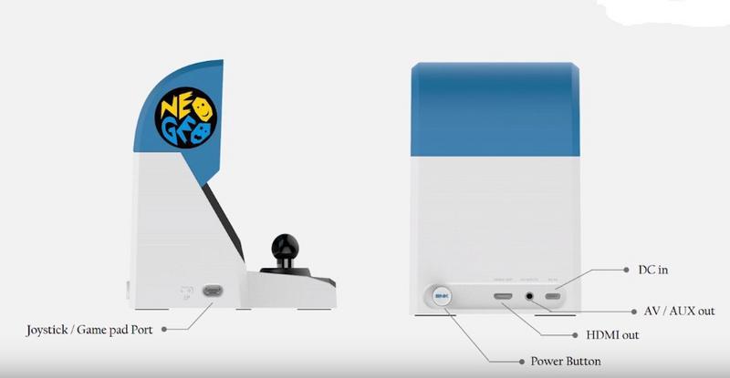 NeoGeo Mini: trapelati i dettagli tecnici 1