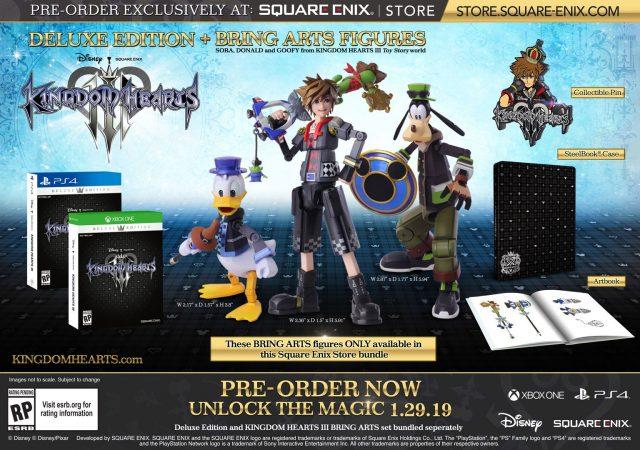 La seconda delle due edizioni speciali di Kingdom Hearts 3