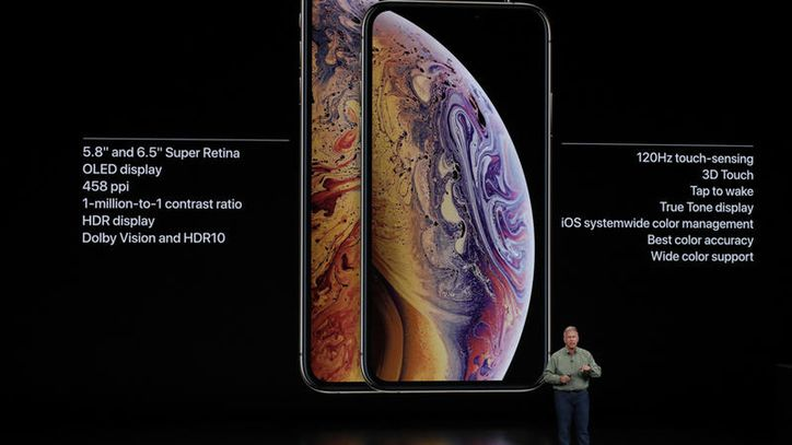 Specifiche tecniche iPhone XS e XS Max
