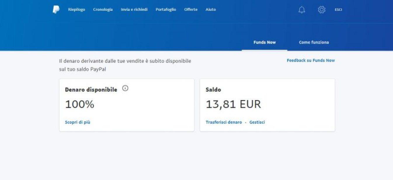 PayPal introduce Funds Now per i venditori più affidabili 1