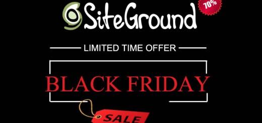 SiteGround Black Friday