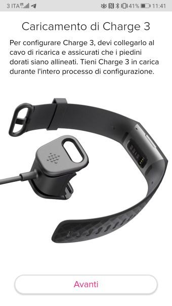 Istruzioni di configurazione del dispositivo FitBit