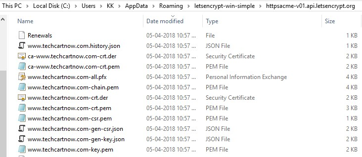 Visual Studio Reactjs Typescript: Getting & Installing Free SSL Certificate On Your Site