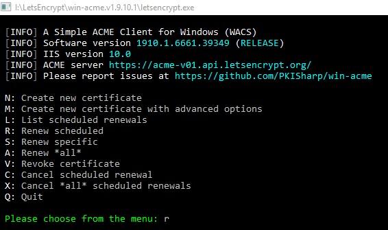 Let's Encrypt's Free SSL Certificate Renewal