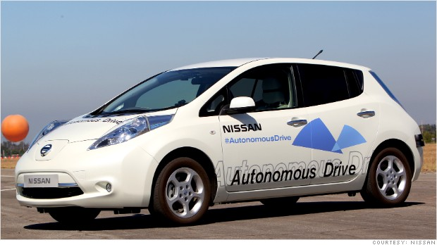 Nissan self driving
