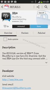 BlackBerry Messenger, bbm