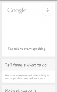 Google Search App for Android