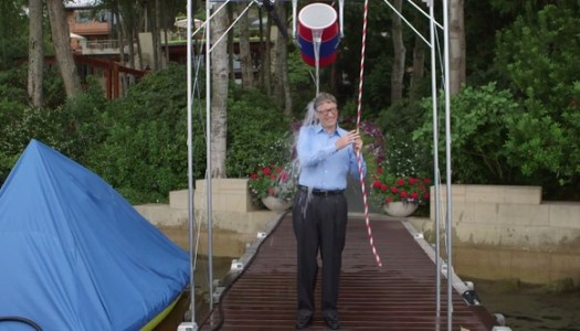 Bill Gate Remains the King of Tech with his Ice Bucket Challenge