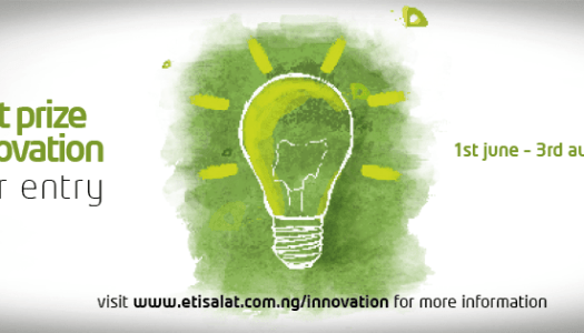 Entries for the Etisalat Prize for Innovation award are still open