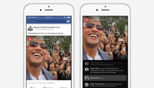 Facebook Live connects you to your favourite celebrities