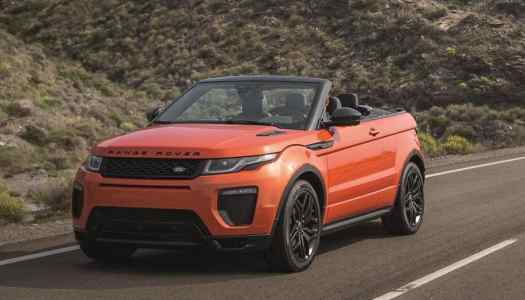 Land Rover unveils first Convertible Range Rover SUV