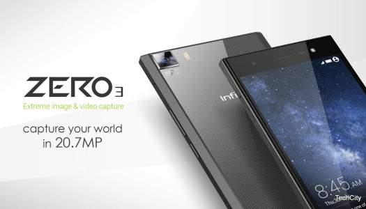 Infinix unveils 20 MegaPixel Zero 3 with 4G LTE capability