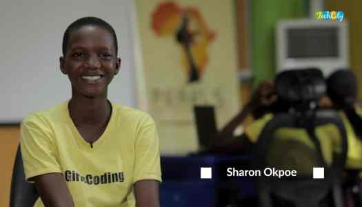 Meet Abisoye who teaches Nigerian young girls how to code