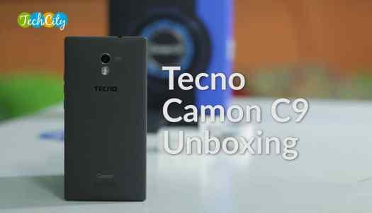 TECNO Camon C9 Unboxing – a Sturdy camera phone