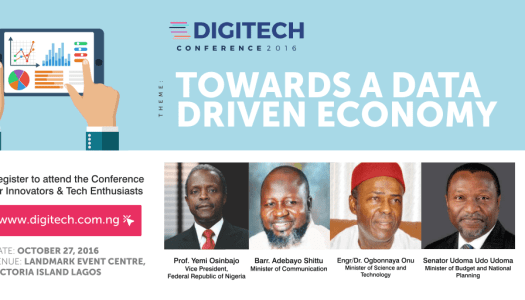 The Inaugural Digitech Conference: Towards A Data Driven Economy
