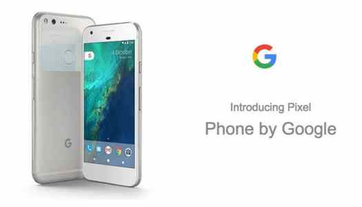 Meet Pixel, the phone by Google