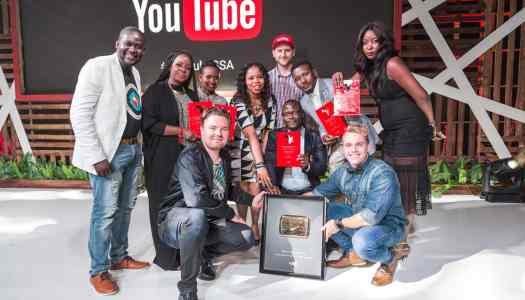 Channels TV, Emmanuella, others make Nigeria proud at the Youtube Africa Creator Awards!