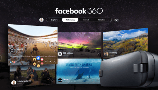 Facebook 360 launched for Gear VR